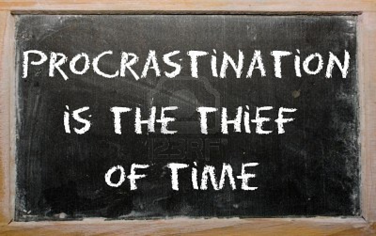 Overcoming Procrastination in Order to Achieve Excellence